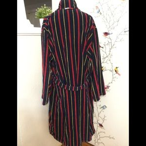 Tommy Hilfiger Other - Vtg 90s Tommy Hilfiger Mens Thick Robe Red Blue